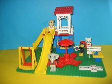 Lego Fabuland 3676 Catherine Cat's Fun Park,  4 Figuren 80er Jahre