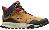 Timberland Garrison Trail Mid Waterproof Mens Hiking Boots Brown Sneaker Leather