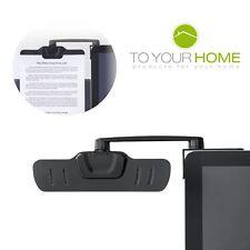 Dihl 3 M monitor scrivania montaggio carta Documento Holder Arm allegare Clip Ufficio nota