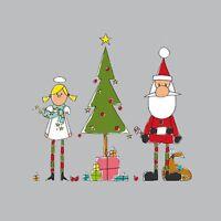 *Weihnachten*20 Servietten*Holy Christmas*Angel,Santa&Tree*Engel,Santa&Baum*