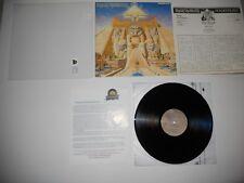 Iron Maiden Powerslave 1st Japan '84 Audiophile Mint EMS-91091 ULTRASONIC Clean