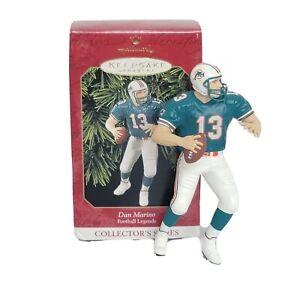 Hallmark Keepsake Dan Marino Miami Dolphins 1999 Ornament NFL Football Legends