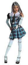 Monster High Girl's Halloween Costume Size Large Frankie Stein Dress Tie Belt