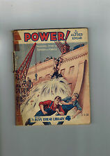 BOY'S FRIEND LIBRARY No. 326 1932 Power!  Alfred Edgar