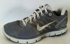 NIKE LUNARGLIDE 2 FLYWIRE Gray Running Shoes Womens 7 Med Sneakers 407647-013