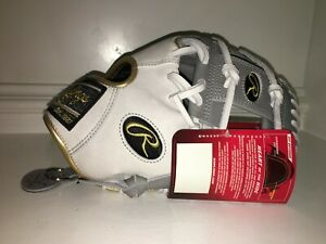New w Tags Rawlings PRO204W-2GW WING TIP Heart of the Hide Baseball Glove 11.5""