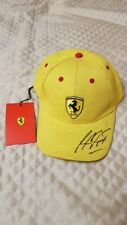 Signed Michael Schumacher Ferrari Cap. F1 Motor Racing Autograph.