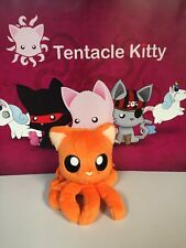 "Tentacle Kitty Little One Orange Stuffed Plush New 4"" Cat Octopus New"