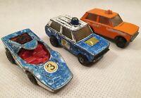 Vintage Matchbox Rolamatics Die Cast Vehicle Bundle Toy Car Bundle 1970s
