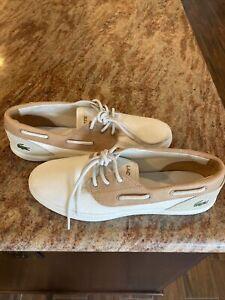 Lacoste Men's  Jouer Deck 117 1 Cam Shoes Size 11