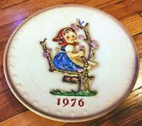 M.J. Hummel Western Germany Plate 1976 #269 In Box Vintage Goebel Ceramic