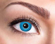 Electro Blue 3 mesi le lente a contatto NUOVO-ACCESSORI ACCESSORIO CARNEVALE