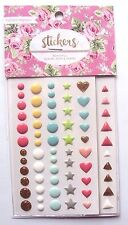 Webster's Pages Stickers Beautiful Enamel Dots & Shapes - NEW