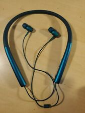SONY h.ear in Wireless Headset MDR-EX750BT Blue Hi-Res Tested Works Great!!