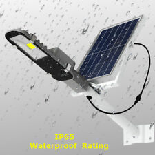 Waterproof 24W Solar Power Sensor COB LED Street Road Light Outdoor Garden