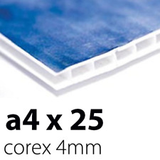 25 x Correx Sign Boards | 4mm A4 | Printed UV Full Colour