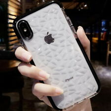 Holographic 3D Molten Drops Transparent TPU Cover Case For iPhone X 8 7 6s Plus