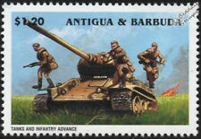 WWII 1945 Battle of Berlin Russian/Soviet Tanks and Infantry Advance Stamp