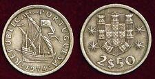 PORTUGAL 2,5 escudos 1974