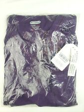 Scrub Aid Women's 2 Piece Scrub Medical Top and Pants Eggplant Size 2Xl
