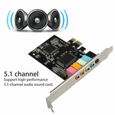 PCI Express PCI-E 5.1 Ch 6 Channel PCIE Audio Digital Sound Card Adapter