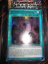 YU-GI-OH! ULTRA RARE LA GRIFFE D'HERMOCRATE DRL3-FR067 MINT FRANCAIS EDITION 1