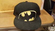 Black And Yellow Batman Snapback Hat