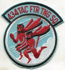 USAF 434th TACTICAL FIGHTER TRAINING SQUADRON PATCH