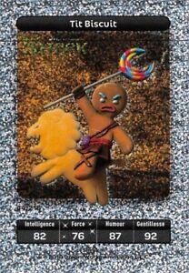 Carte Carrefour Dreamworks - Shrek - Tit Biscuit Titane N°44