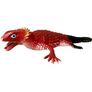 Rhode Island Reptile Lizard Replica Animals Plastic Figure Toy Red 24cm