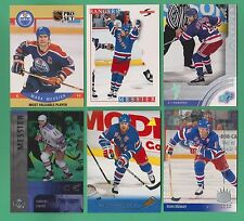 (6) card Mark Messier lot 2001 Upper Deck Ice SPx 1995 Score Pro Set Pinnacle