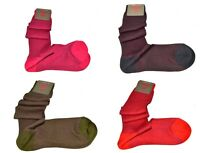 RED SOCKS CALZE LUNGHE GAMBALETTO DONNA GALLO FANTASY  COTONE VANISE