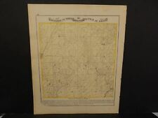Illinois Greene County Map Mineral Springs Township  c.1872 Y12#51