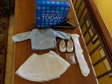 American Girl Today 2002 Ice Blue Outfit Sweater Skirt Brand New In Box A2-GKOD