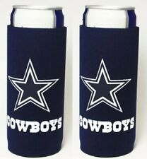 Michelob Ultra 2 Slim Can Cooler Coozie Koozie Dallas Cowboys Nfl New