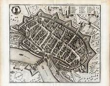 Lauingen - Kupferstich Merian 1644