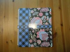 NEW VERA BRADLEY 3 Subject Spiral Notebook with Pocket Alpine Floral NWT NIP