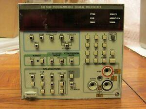 Programmable Digital Multimeter  + manuals     Tektronix DM-5010