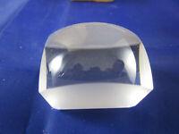 Seltene alte Dia-Lupe Sammler Prisma Aufsatz-Vergrößerung Foto-Lupe OVP