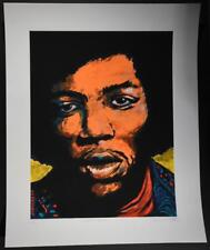 Exhausted Beauty Subscriber Edition Art Print Jimi Hendrix 2005 Jermaine Rogers