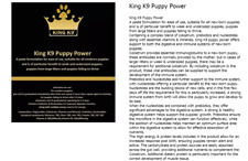 K9 Puppy Power Stim 15ml Whelping kit colostrum prebiotic stimulate puppies