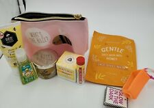 Bath & Body Works What's the Buzz Cosmetic bag with Goodies