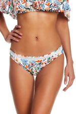NEW Lucky Brand Lucky Garden Floral Hipster Swimsuit Bikini Bottom M Medium