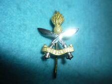 Genuine-British ArmyThe Queens Gurkha Engineers Bi-Metal Cap/Hat Badge-Post 1955