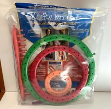 Knifty Knitter Knitting Set 4 Looms Hook Needle by Provo Craft