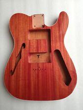thinline 72 guitar body semi hollow mahogany