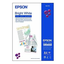 EPSON A4 BRIGHT WHITE INKJET PAPER 90GSM 500 SHEETS - S041749 C13S041749