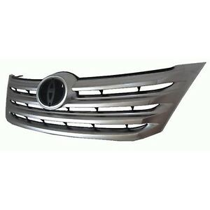 fits 2011-2012 TOYOTA AVALON Grille Satin Chrome Front Bumper NEW