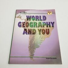 World Geography and You Softcover | Steck Vaughn | Volumen 1