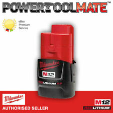 Milwaukee M12B2 12v Li-Ion 2.0Ah Battery Genuine